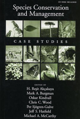 Species Conservation and Management: Case Studies