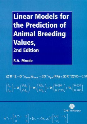 Linear Models for the Prediction of Animal Breeding Values