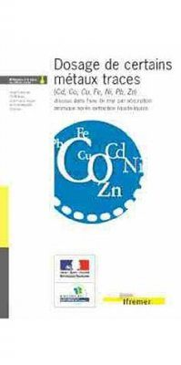 Dosage de Certains Metaux Traces (Cd, Co, Cu, Fe, Ni, Pb, Zn)