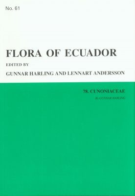 Flora of Ecuador, Volume 61, Part 78: Cunoniaceae