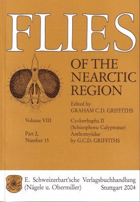 Flies of the Nearctic Region, Volume 8: Cyclorrapha II (Schizophora: Calyptratae), Part 2: Anthomyiidae, Number 15