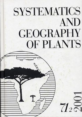 Systematics and Geography of Plants Volume 71 (2)