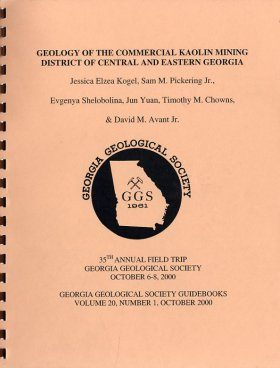 Geology of the Commercial Kaolin Mining District of Central and Eastern Georgia