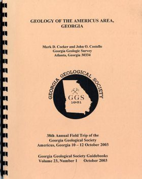 Geology of the Americus Area: Structure, Geomorphology, Hydrology, and Economic Geology
