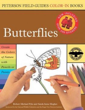 Peterson Field Guide Colour-In Books: Butterflies