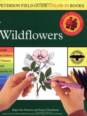 Peterson Field Guide Colour-In Book: Wildflowers