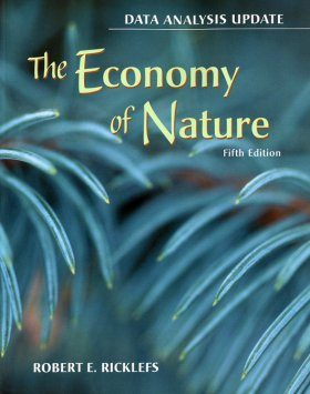 The Economy of Nature: Data Analysis Update