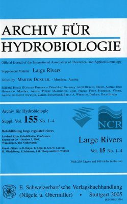 Large Rivers, Volume 15: Rehabilitating Large Regulated Rivers