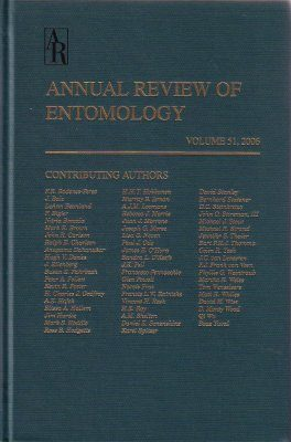 Annual Review of Entomology, Volume 51