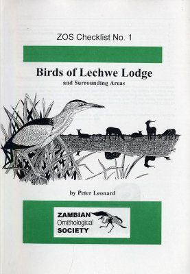 Birds of Lechwe Lodge and Surrounding Areas