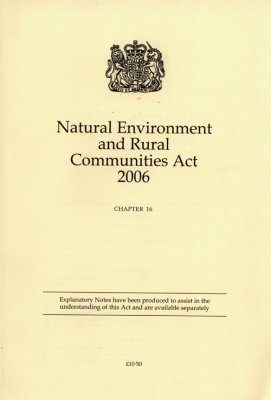 Natural Environment and Rural Communities Act 2006: Chapter 16