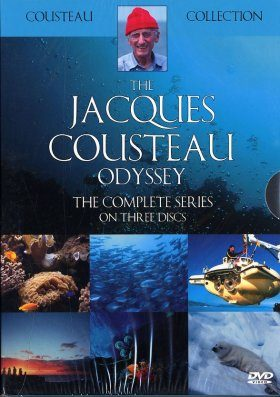 The Jacques Cousteau Odyssey - DVD (Region 2)
