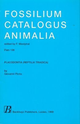 Fossilium Catalogus Animalia, Volume 136 [English]