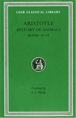 Aristotle: History of Animals: Books 4-6