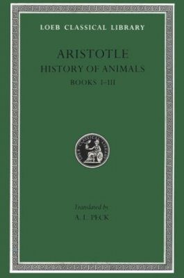 Aristotle: History of Animals: Books 1-3