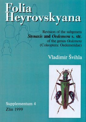 Folia Heyrovskyana, Supplement 4: Revision of the Subgenera Stenaxis and Oedemera s. str. of the Genus Oedemera (Coleoptera: Oedemeridae)