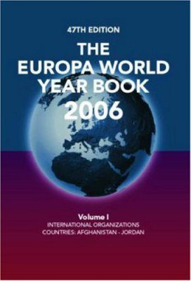 The Europa World Year Book 2006