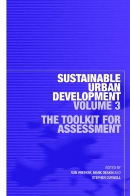 Sustainable Urban Development, Volume 3
