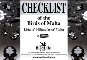 Checklist of the Birds of Malta