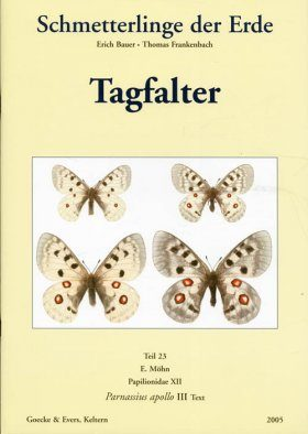 Butterflies of the World, Tagfalter, Teil 23: Papilionidae XII [German]