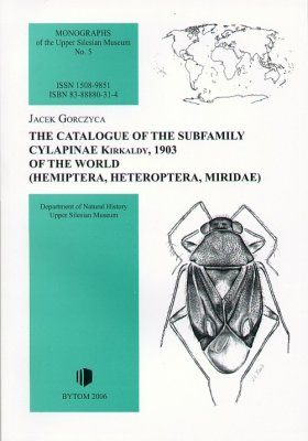 The Catalogue of the Subfamily Cylapinae Kirkaldy, 1903 of the World