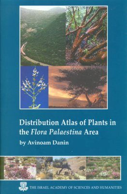 Distribution Atlas of Plants in the Flora Palaestina Area