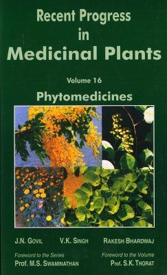 Recent Progress in Medicinal Plants, Volume 16: Phytomedicines
