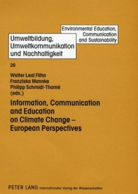 Information, Communication and Education on Climate Change - European Perspectives