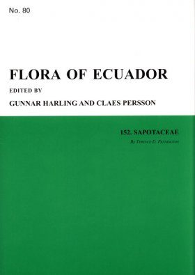 Flora of Ecuador, Volume 80, Part 152: Sapotaceae