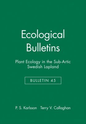 Plant Ecology in the Sub-Arctic Swedish Lapland