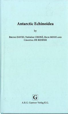 Synopses of the Antarctic Benthos, Volume 10: Antarctic Echinoidea