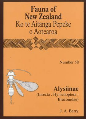Fauna of New Zealand, No 58: Alysiinae (Insecta: Hymenoptera: Braconidae)