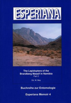 Esperiana Memoir, Volume 4: The Lepidoptera of the Brandenberg Massif in Namibia Part 2