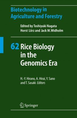 Rice Biology in the Genomics Era