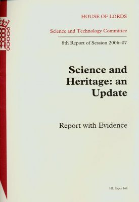 Science and Heritage: An Update