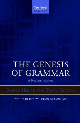 The Genesis of Grammar