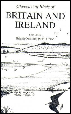A Checklist of Birds of Britain and Ireland