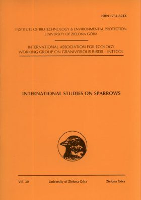 International Studies on Sparrows, Volume 30