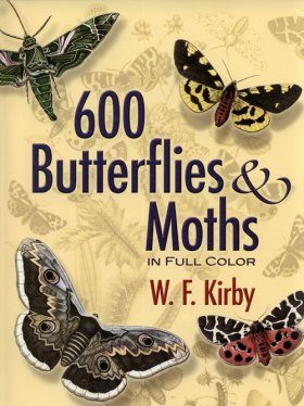 600 Butterflies and Moths in Full Color