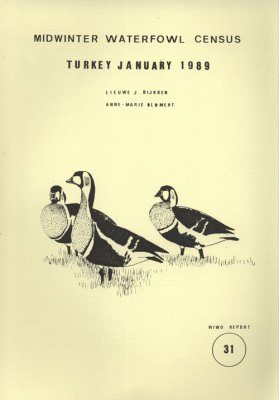 Midwinter Waterfowl Census, Turkey, January 1989