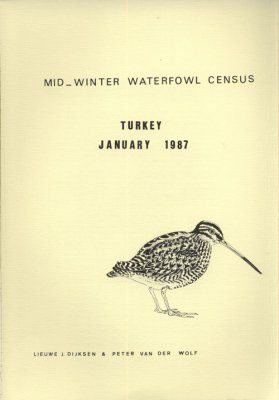 Mid-Winter Waterfowl Census Turkey January 1987
