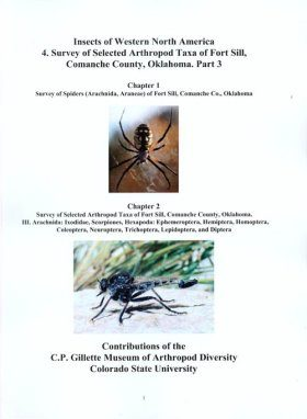 Insects of Western North America, Volume 4: Survey of Selected Arthropod Taxa of Fort Sill, Comanche County, Oklahoma, Part 3,
