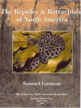 The Reptiles and Batrachians of North America
