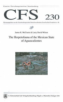 The Herpetofauna of the Mexican State of Aguascalientes
