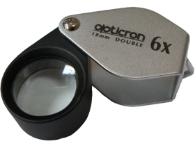 Opticron Hand lens, 18mm, 6x magnification
