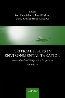 Critical Issues in Environmental Taxation, Volume 4