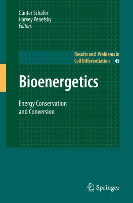 Bioenergetics: Energy Conservation and Conversion