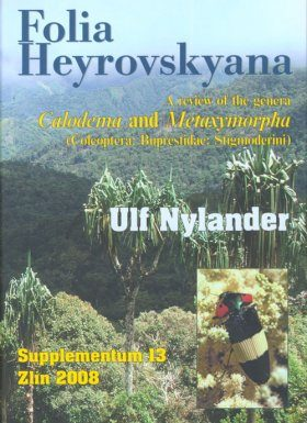 Folia Heyrovskyana, Supplement 13: Review of the Genera Calodema and Metaxymorpha (Coleoptera: Buprestidae: Stigmoderini)