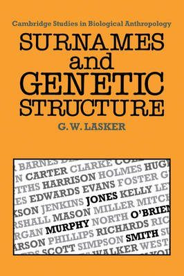 Surnames and Genetic Structure