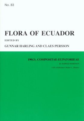 Flora of Ecuador, Volume 83, Part 190 (3): Compositae-Eupatoreae
